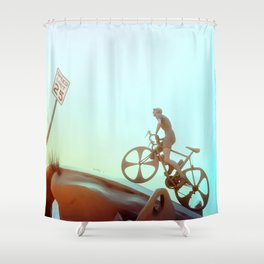 Desert Clime(b)s Shower Curtain