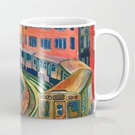 Brown Line to the Loop Coffee Mug