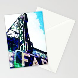 Blue Fargo Theatre Stationery Cards