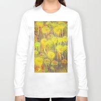 polka dot Long Sleeve T-shirts featuring Polka Dot Jellyfish by mark jones