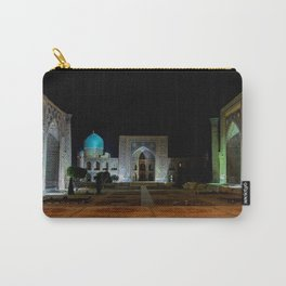 Registan square at night - Samarkand Carry-All Pouch
