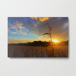 Simple Sunset Metal Print