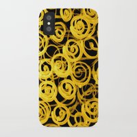 pasta iPhone & iPod Cases featuring pasta by clemm