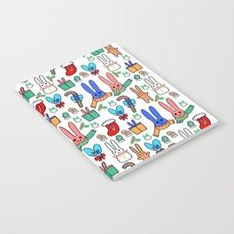 A Very Bunny Christmas Notebook