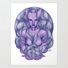 Infernal Art Print