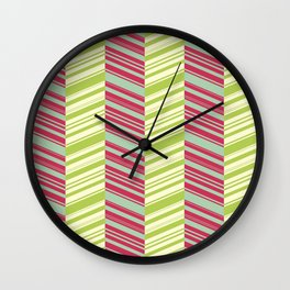 Tropical illusion Wall Clock