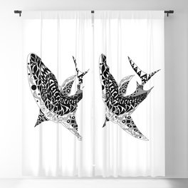 Mr Shark ecopop Blackout Curtain