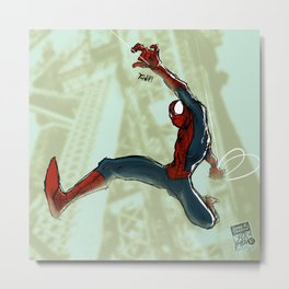 What Up, Pete? Metal Print