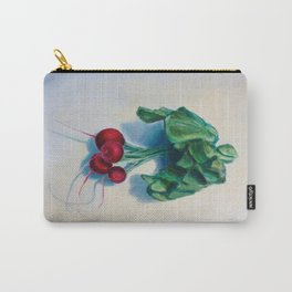 Painted Radishes Carry-All Pouch