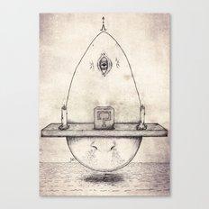 Tarot: I - The Magician Canvas Print