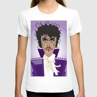 prince T-shirts featuring Prince by Joe Pugilist Design