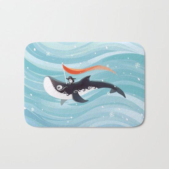 Grandpa Orca Bath Mat