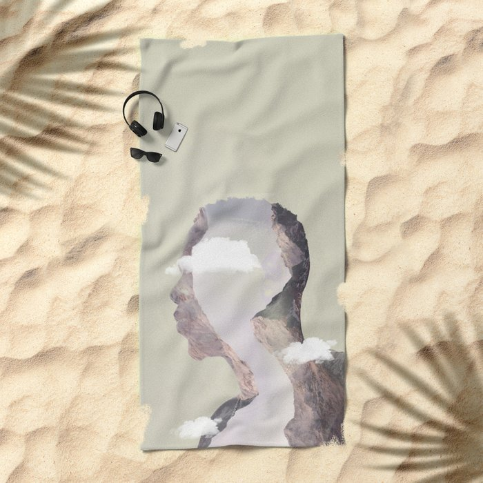 Valley of Dreams Beach Towel