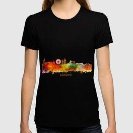 London skyline watercolor T-shirt