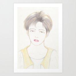 boyish Art Print