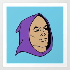 He Man Hoodie Art Print