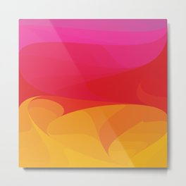 Abstract fire Metal Print