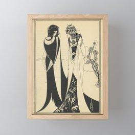 AUBREY BEARDSLEY - John and Salome Framed Mini Art Print