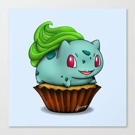 Bulba Cupcake Canvas Print