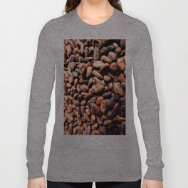 Cocoa seeds Long Sleeve T-shirt