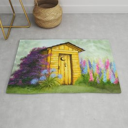 Out in Spring Rug