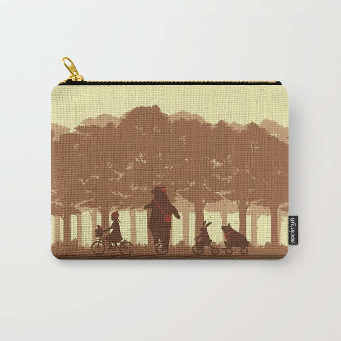 Biking with Friends Carry-All Pouch