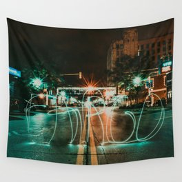 Downtown Fargo Wall Tapestry