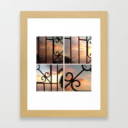 Let Me Out Framed Art Print