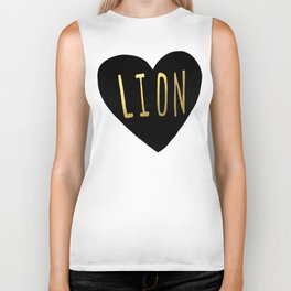 Lion Heart Biker Tank