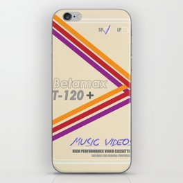 Betamax iPhone Skin