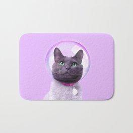 SPACE CAT Bath Mat