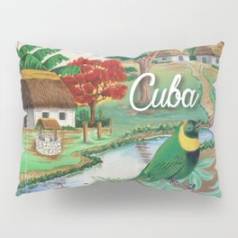 Cuba Scenery 2 Pillow Sham