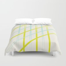 Diagonals  Duvet Cover
