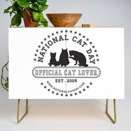 National Cat Day Credenza