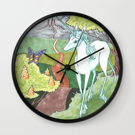 All The Roads Wall Clock