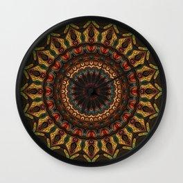 Trippy Fractal Kaleidoscope 2 Wall Clock