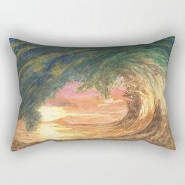 Breaking Wave Rectangular Pillow