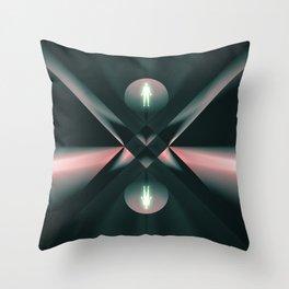 Ascend - Descend Throw Pillow