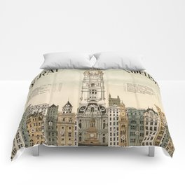 Vintage poster - Philadelphia Comforters