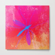blue insect Metal Print