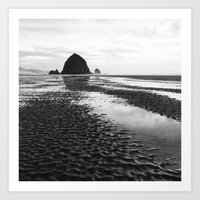 Rippled Sand Art Print