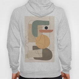 Abstract Minimal Shapes 24 Hoody