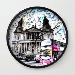 London Classic Art Wall Clock
