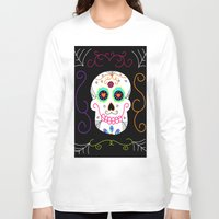 selena gomez Long Sleeve T-shirts featuring Gomez by Designs By Misty Blue (Misty Lemons)
