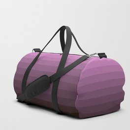 Purple stripes Duffle Bag