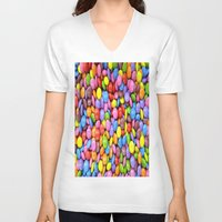 saga V-neck T-shirts featuring Candy Crush Saga by ArtSchool