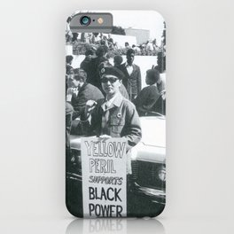 Asians For Black Black Power, 60s iPhone Case
