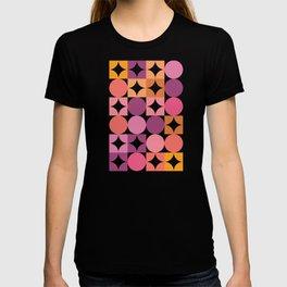 Mid Century Shimmering Sunset T-shirt