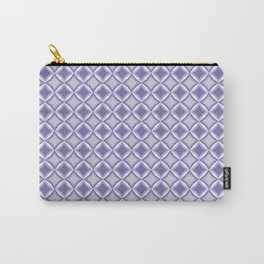 Lilac squares pattern. Carry-All Pouch