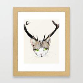Catelope Framed Art Print